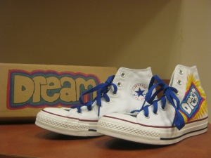 Dream shoe, designed by Charlotte Christian